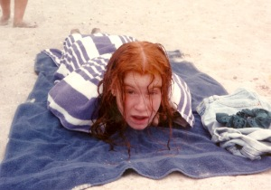 Me at my prime: high school beach week;)